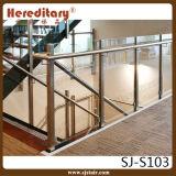 304 [ستينلسّ ستيل] درابزين زجاجيّة لأنّ عظيمة فندق درج ([سج-س103])