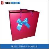 Bolso de papel querido del regalo de las señoras de lujo del diseño