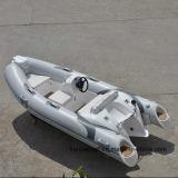 Barcos rígidos infláveis do reforço da casca dos barcos de borracha de Liya 3.8m