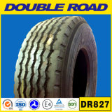 Neumático radial 385/65r22.5 del carro de Supersingle de la alta calidad de la estrella doble