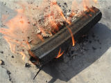 De Briket die van de Schil van de Rijst van de Biomassa van Smokless Machine maakt