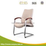 Présidence en cuir lombo-sacrée de luxe en métal de chaise pivotante (B622)