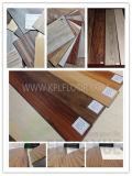 Type en plastique de plancher et planche simple de vinyle de traitement extérieur de couleur