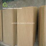 Tuile en bois jaune de grès pour le mur et le plancher