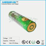 Ionenbatterie des Lithium-18650 mit PWB für Taschenlampe/Fackel