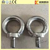 Boulon d'oeil DIN580 de levage galvanisé de calage modifié par baisse d'acier inoxydable