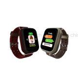 タッチ画面心拍数の大人GPSの追跡者の腕時計