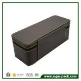 Caixa de armazenamento da jóia do couro da qualidade de Hight com Purtable