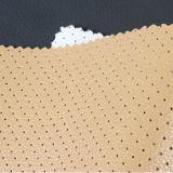 Пробивая кожа PU ткани Breathable с отверстием для ботинок, софой, стулом, крышкой места автомобиля