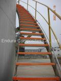 段鼻/ FRP / GRP段鼻/グラスファイバーグレーティングとFRP階段/階段トレッド