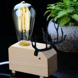 DIYの創造的な木の妖精のシカBedlamp