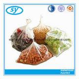 Прозрачные напечатанные пластичные мешки еды на крене для супермаркета