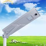 IP65 5W-120W Tudo em um LED integrado Luz solar solar Iluminação solar