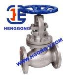 Valvola di globo industriale della flangia pneumatica dell'acciaio inossidabile di API/DIN