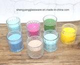 2017 castiçal coloridos do estilo novo/suporte de vela/copo de vidro para a decoração da casa