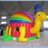 Tortoise inflável Bounce para Kids com Jumping Castle