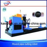 CNC van het Plasma van de Pijp van het metaal Scherpe Machine voor de Pijp van het Koper van de Pijp van het Ijzer