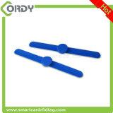 Wristband clássico amarelo azul vermelho da cor MIFARE 1k 13.56MHz RFID