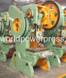 Máquina excêntrica Inclinable da imprensa de potência mecânica de 25 toneladas