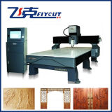 Máquina de gravura de madeira de bambu da máquina dos Carvings do CNC