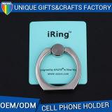Suporte personalizado logotipo do anel de dedo do telefone móvel da forma