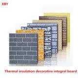 Panneau de mur intégral décoratif de matériaux de construction de panneau d'isolation thermique