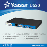 Yeastar 2 E1/T1/J1 portas 500 SIP Extention suportou o sistema do PBX (MyPBX U520)