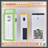 Перезаряжаемые аварийное освещение 22 СИД солнечное с электрофонарем 1W (SH-1903B)