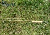 Freier Verschiffen-Großverkauf Tonkin Stock-aufgeteilte Bambusfliege Rod
