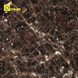 Gold brillante Color Stone Look Polished Porcelain Flooring Tiles en China (PG6099)