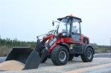 Everun Er16 de Lader van Contruction van 1.6 Ton met Blad Bucket/Snow