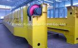 작업장 레일을 설치하는 20 톤 천장 기중기