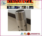 Steel inoxidável Perforated Pipe e Tube com Polishing