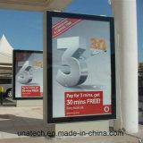Cadre extérieur d'éclairage LED de Mupi de stand des supports publicitaires DEL librement