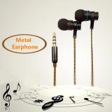 De Diepe BasOortelefoon van uitstekende kwaliteit van het in-oor van het Metaal met Mic