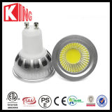 ETL SAA CER 6W 600lm COB LED GU10 Dimmable LED Spot Light