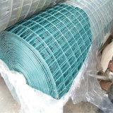 녹색 PVC 강철 용접 전선 메시