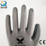 Nylon нитрил полиэфира нитрила вкладыша покрыл защитные перчатки работы безопасности (N6088)