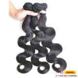 100% 처리되지 않은 사람의 모발 씨실 도매 페루 Virgin 비꼬인 머리