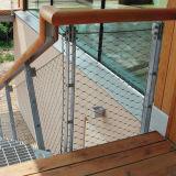 Edelstahl-Kabel-Seil-Balustrade-Ineinander greifen