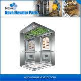 Fabrication de luxe de cabine d'ascenseur de modèle