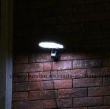 Indicatore luminoso solare solare della parete dell'indicatore luminoso montato rete fissa 500lm LED del sensore solare da vendere