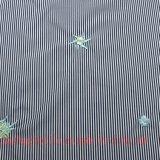 Хлопок полиэфира вышивает ткани покрашенной пряжей для рубашки юбки платья
