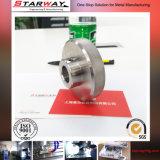 Жара точности CNC подвергая механической обработке - часть машины обработки