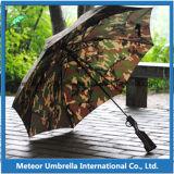 Parapluie automatique de chasse de golf de camouflage de configuration de forme disruptive spéciale de pistolet