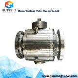 Válvula de esfera de flutuação pneumática do aço inoxidável