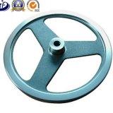 Rueda volante del arrabio de vapor del motor de la rueda volante gris/gris del OEM/del equipo de la aptitud