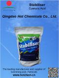 Cloro del raggruppamento dell'acido di cianuro dello stabilizzatore della piscina
