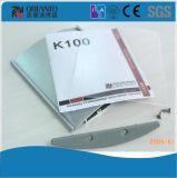 Ligne signe en aluminium modulaire incurvé de K d'extrusion de profil