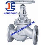 Valvola di globo pneumatica industriale della flangia del acciaio al carbonio di DIN/API/JIS